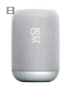 Sony LF-S50G Google Assistant Built-in Wireless Smart Speaker with 360-degree sound - White