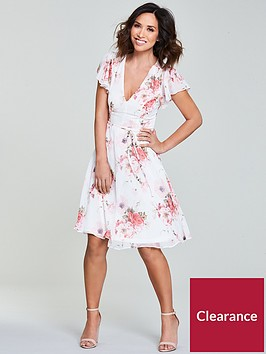 myleene-klass-floral-tea-dress