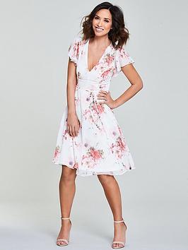 Myleene Klass Floral Tea Dress
