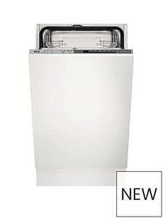 AEG FSB51400Z Fully Integrated 9-Place Setting SlimlineDishwasher Best Price, Cheapest Prices
