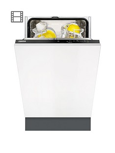 Zanussi ZDV12004FA Integrated 9-Place,l 45 cm Wide Slimline Dishwasher