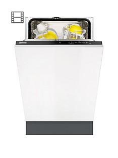 Zanussi ZDV12004FAIntegrated 9-Place,l 45 cm Wide Slimline Dishwasher Best Price, Cheapest Prices