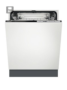 Zanussi ZDT22003FA 60cm Wide Integrated 13-Place Full Size Dishwasher Best Price, Cheapest Prices