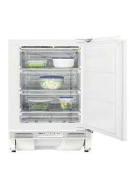 Zanussi Zqf11431Dv Integrated 60Cm Wide Frost-Free Under-Counter Freezer Review thumbnail
