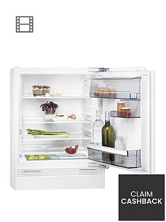 aeg-skb58211vafnbsp60cmnbspwide-integrated-under-counter-fridge