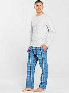 v-by-very-space-dye-top-amp-blue-check-bottoms