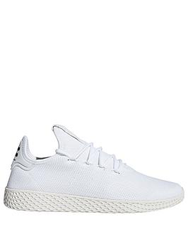 adidas-originals-x-pharrell-williams-tennis-hu-trainers-white