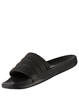 adidas-adidas-originals-adilette-comfort-slider-blackwhite