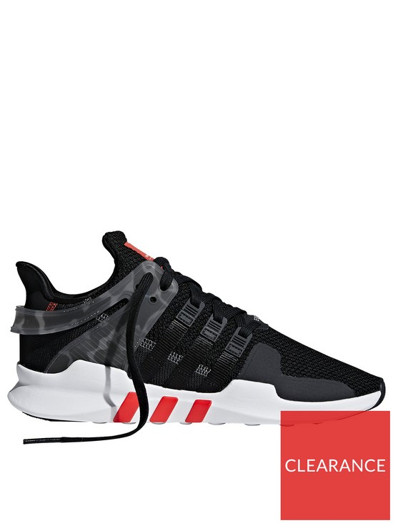 new arrivals 367fa bbe8e adidas Originals EQT Support Adv Trainers - BlackRedWhite