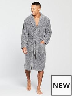 v-by-very-v-by-very-grey-fleck-supersoft-robe-grey
