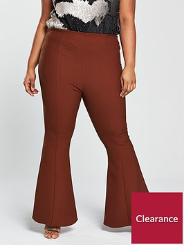 v-by-very-curve-kickflare-trouser-rust