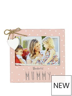love-life-mdf-photo-frame-6-x-4-wonderful-mummy