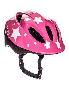 Sport Direct Sport Direct Pink Stars Children'S Helmet 48-52cm