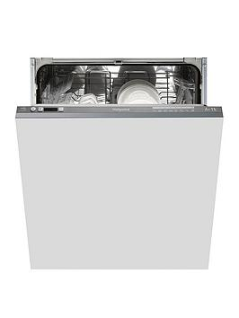 Hotpoint Ltf8B019Uk 13-Place Full Size Integrated Dishwasher With Quick Wash - Graphite - Dishwasher Only Best Price, Cheapest Prices