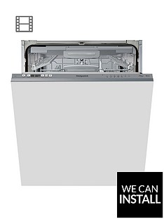 hotpoint-hic3c26wfnbsp14-place-full-size-integrated-dishwasher-with-quick-wash-3d-zone-wash-silver