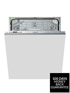 hotpoint-hio3t1239euknbsp14-placenbspfull-size-integrated-dishwasher-with-quick-wash-3d-zone-wash-super-silent-and-optional-installation-stainless-steel