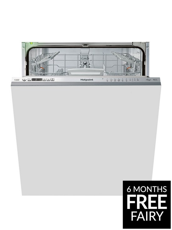 Integrated Hotpoint Size Hio3t1239euk Dishwasher With Full 14 Place u13TlFKJc