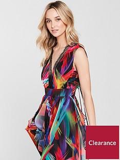 v-by-very-unique-hanky-hem-carnival-midi-dress-printed