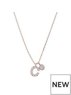 accessorize-rose-gold-diamante-inital-pendant-c