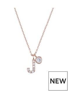 accessorize-rose-gold-diamante-inital-pendant-j
