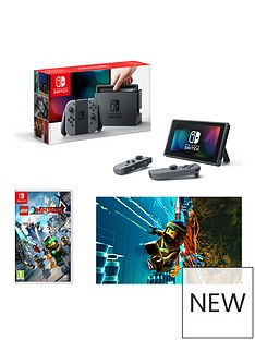 nintendo-switch-grey-console-with-legonbspninjago-the-movie-the-game