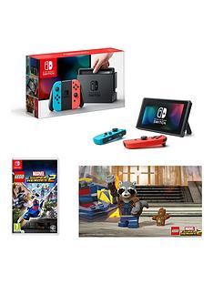 nintendo-switch-neon-red-neon-blue-console-with-lego-marvel-superheroes-2