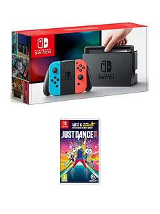nintendo-switch-console-with-just-dance-2018