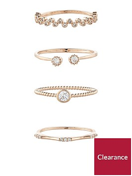 accessorize-accessorize-rose-gold-4-x-crystal-stacking-ring