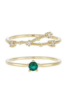 accessorize-may-birthstone-stacking-ring-set