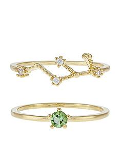 accessorize-august-birthstone-stacking-ring-set