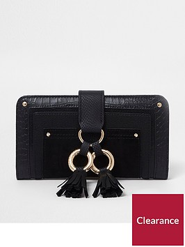 river-island-hoop-zip-around-purse-black