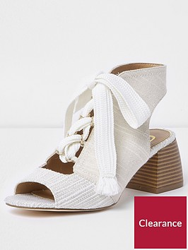 river-island-canvas-tie-up-block-heel-shoe-boots-white