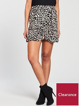 miss-selfridge-animal-print-flippy-skirt