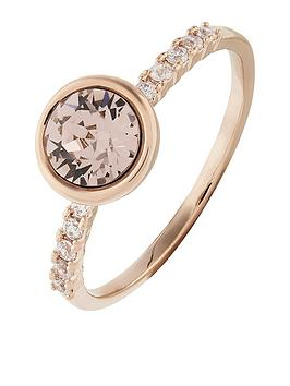 accessorize-rose-gold-simple-pave-ring