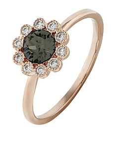 accessorize-rose-gold-flower-ring-grey