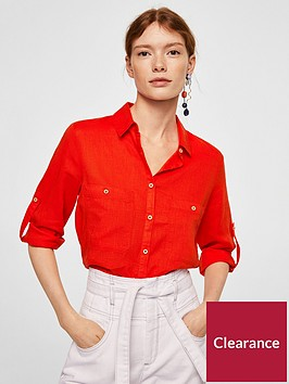 mango-wood-blouse-bright-red