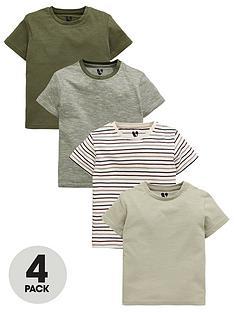 mini-v-by-very-boys-4-pack-stripe-and-khaki-tees