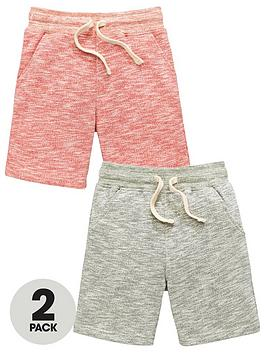 mini-v-by-very-boys-2-pack-loop-back-sweat-shorts