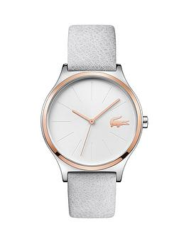 lacoste-nikita-white-dial-white-leather-strap-ladies-watch