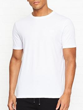 hugo-dero-logo-detail-t-shirt-white