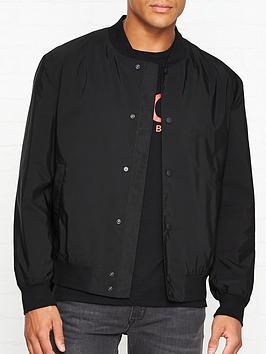 hugo-boris-lightweight-bomber-jacket-black