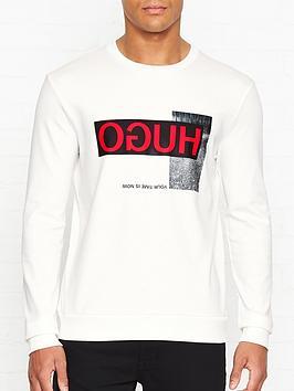 hugo-dicagonbspreverse-logo-print-sweatshirtnbsp--white