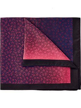 hugo-mens-printed-silk-pocket-square-navyred