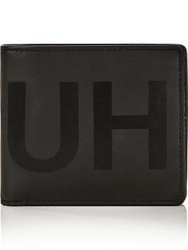 hugo-mens-statement-billfold-leather-wallet-black