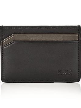 hugo-mens-subway-leather-card-holder-black