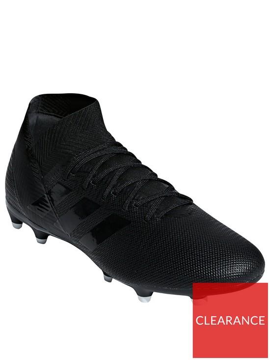 6a963e048 adidas Nemeziz 18.3 Firm Ground Football Boots - Black