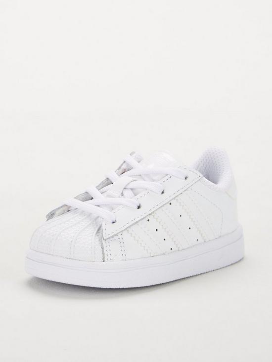online store 029fe 634f8 Superstar Infant Trainer - White