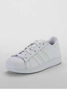9f7d062cb974 adidas Originals Superstar Childrens Trainer - White