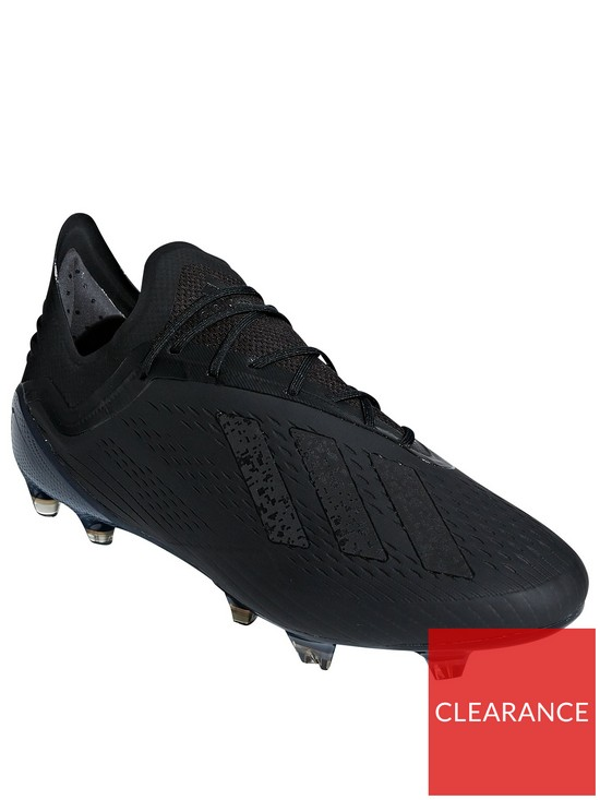 b128e6380957 adidas X 18.1 Firm Ground Football Boots - Black