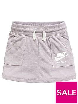nike-younger-girls-gym-vintage-short-greynbsp